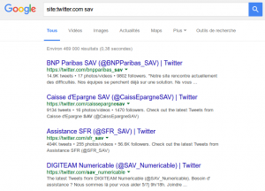 De nombreuss marques utilisent Twitter pour leur SAV