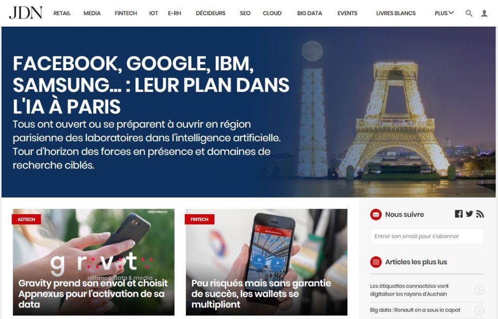 veille digital - Journal du Net