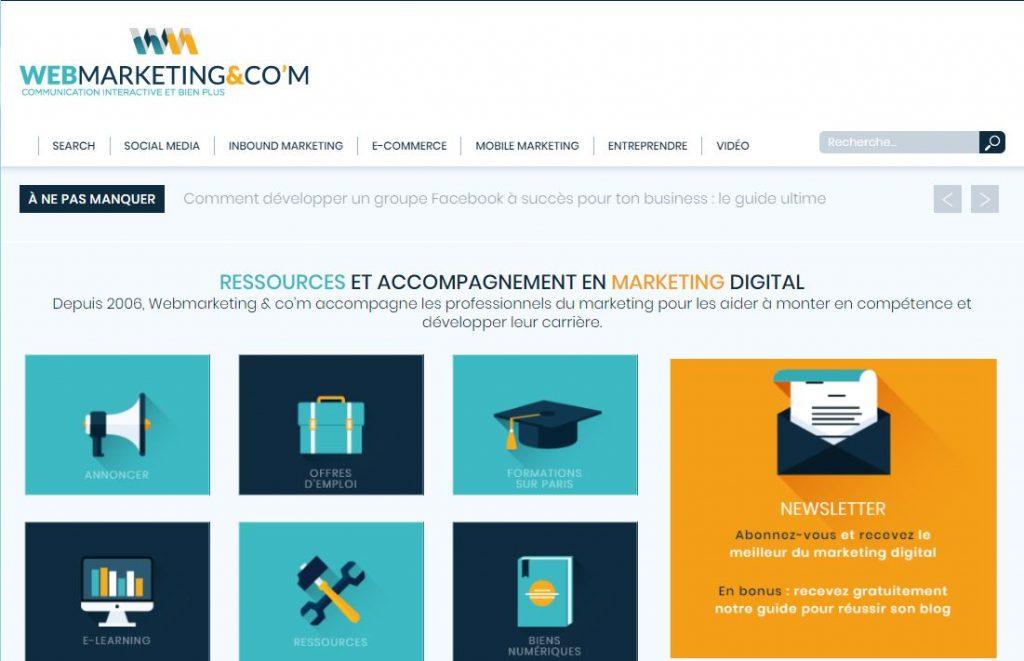 veille digital - webmarketing & com