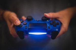 Manette de PS4 jeux vidéo