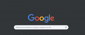 Dark mode Google chrome